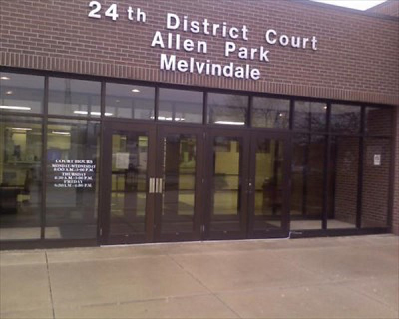 24th District Court in Allen Park and Melvinfale