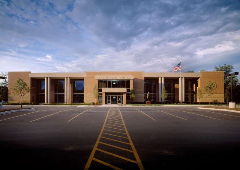 47th District Court in Farmington Hills