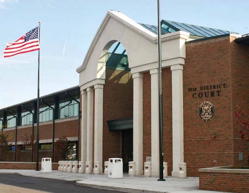 20th District Court in Dearborn Heights