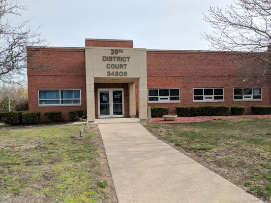 29th District Court in Wayne