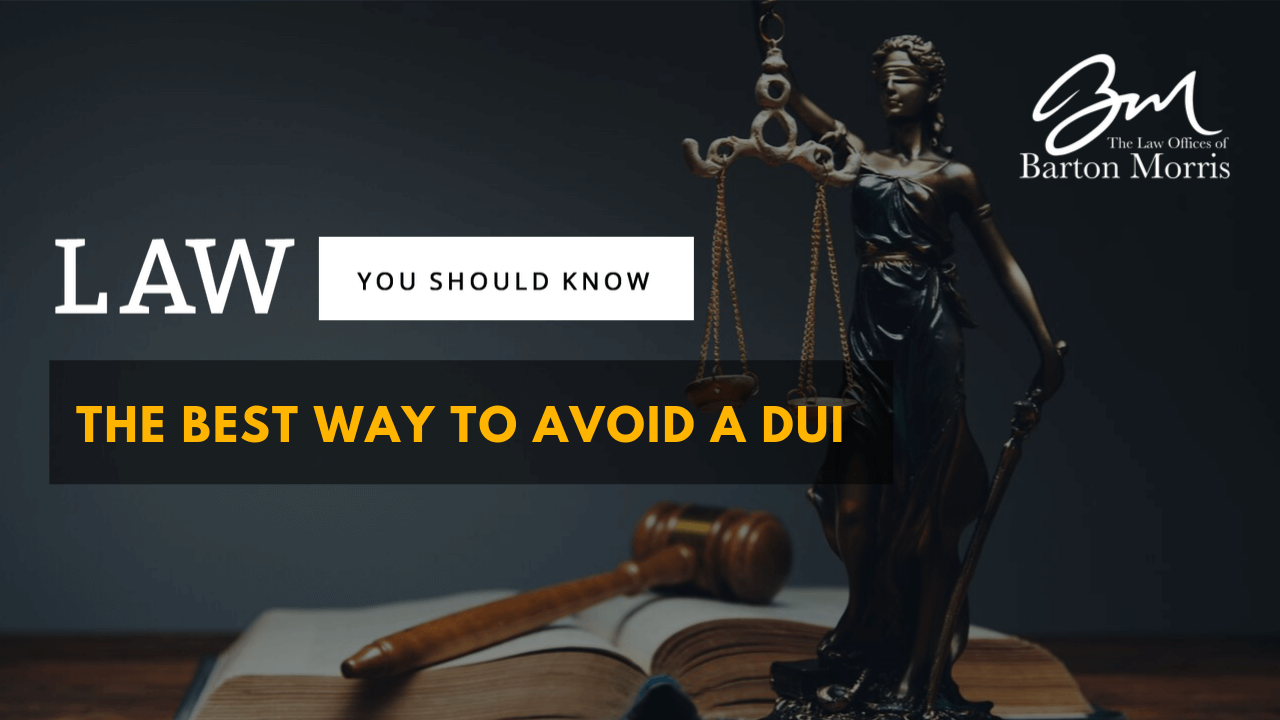 The Best Way to Avoid a DUI