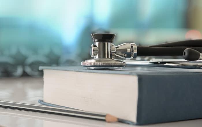 Stethoscope in nursing school