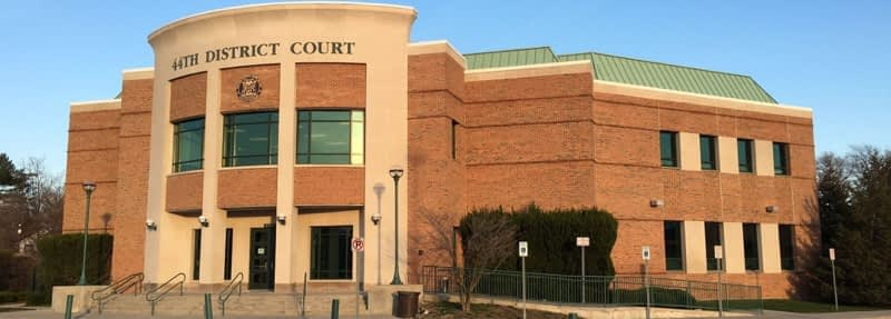 44th District Court in Royal Oak
