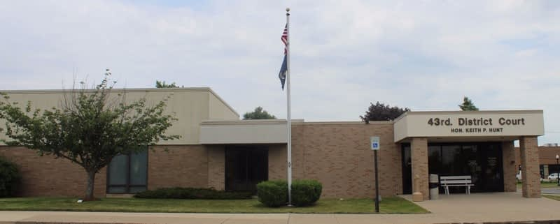 43rd District Court in Madison Heights
