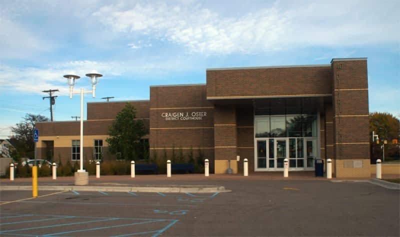 40th District Court in St. Clair Shores