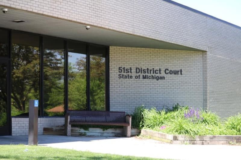 51st District Court in Waterford