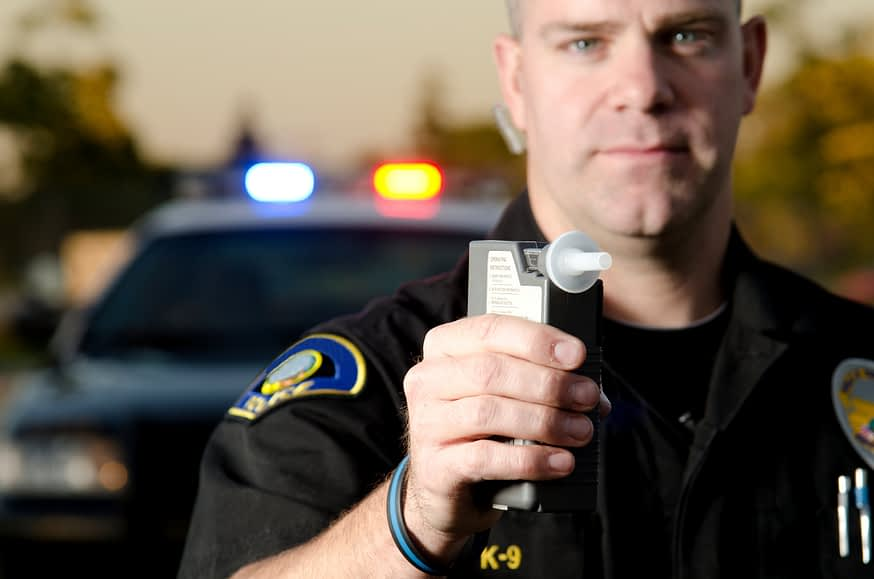 alcohol breath tests