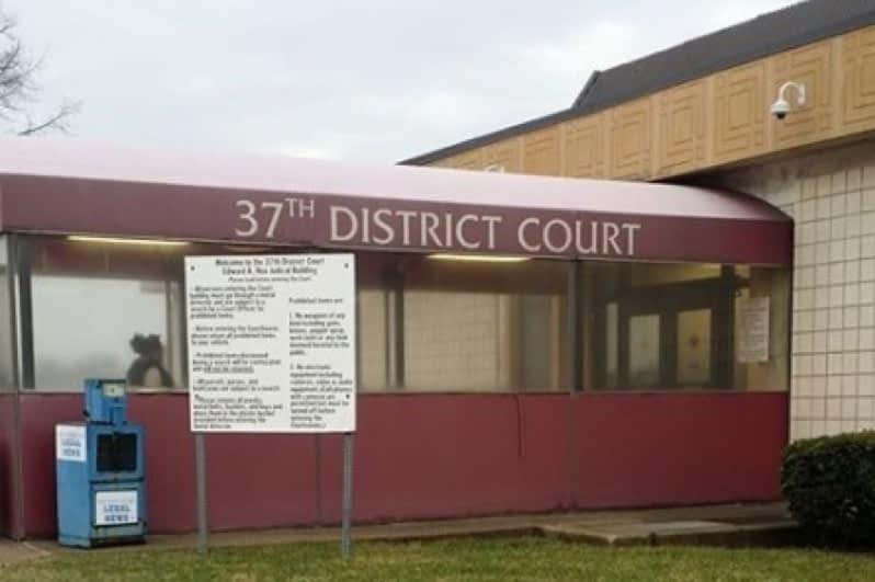 Michigan 37th District Court in Warren and Centerline