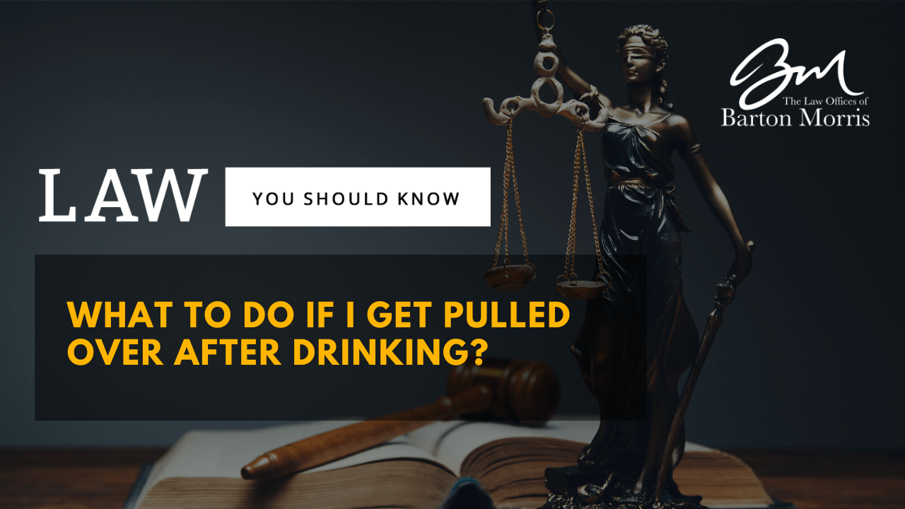 Pulled Over for Drunk Driving: What Should I Do?